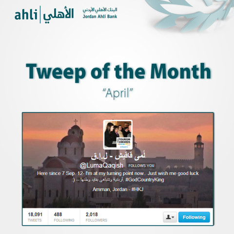 tweep of the month